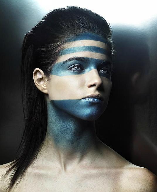 Cool Camo Face Paint