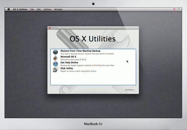 Reset Advice Mac Computer Time Machine Backup Intelligent Technology