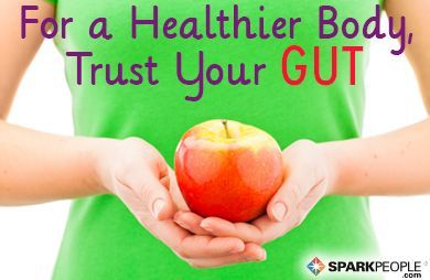 a Good Gut Keeps You Healthy How a Good Gut Keeps You Whole Body Healthy | via @SparkPeopleHow a Good Gut Keeps You Whole Body Healthy | via @SparkPeople