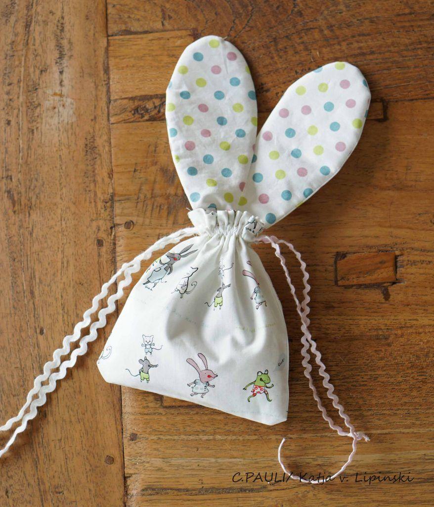 Photo of Nähen für Ostern: Wir nähen eine süße Ostern-Sammeltasche und eine Osterhasen-Tasche.