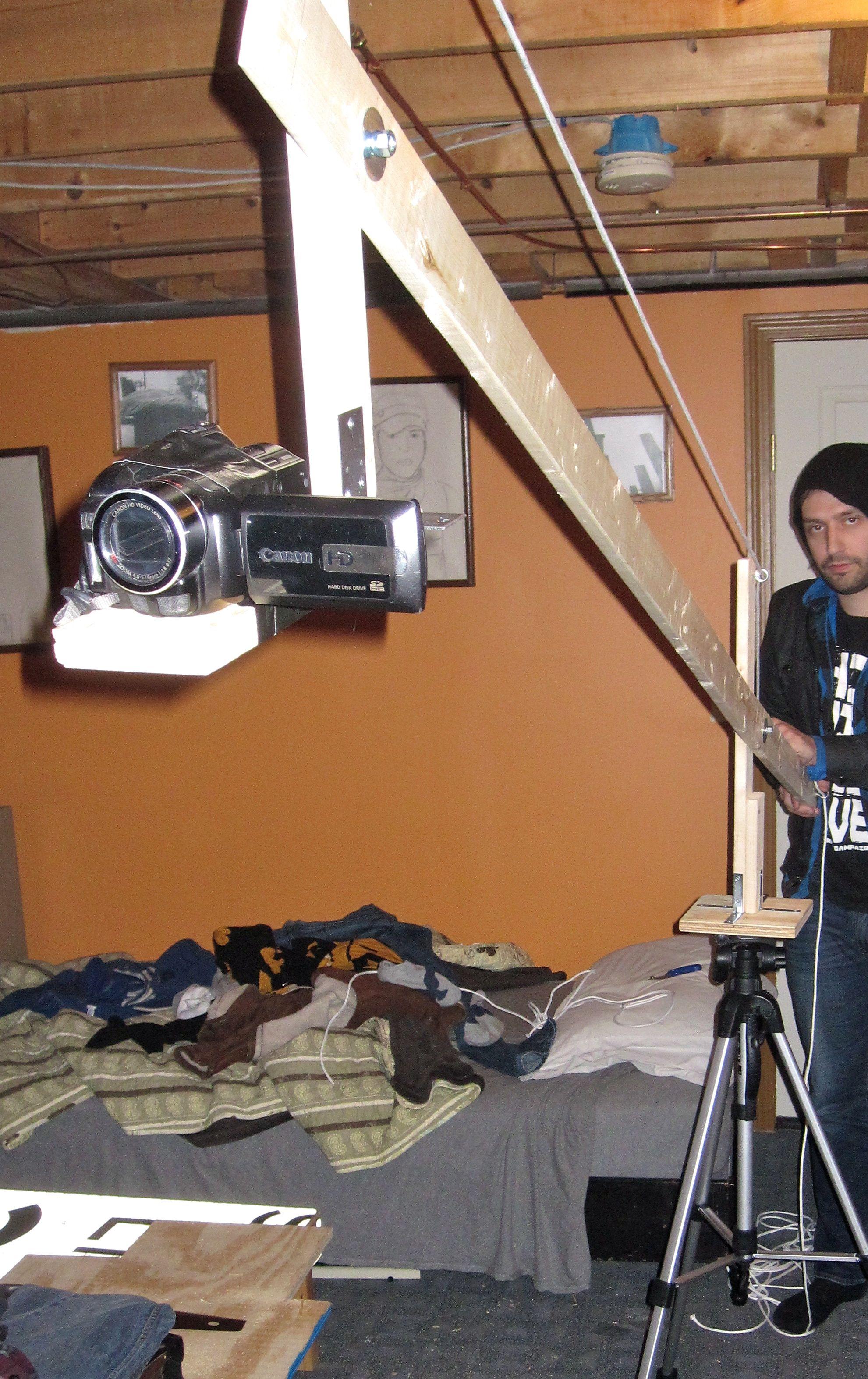 DIY camera crane/jib boom | One board to rule them all | Diy