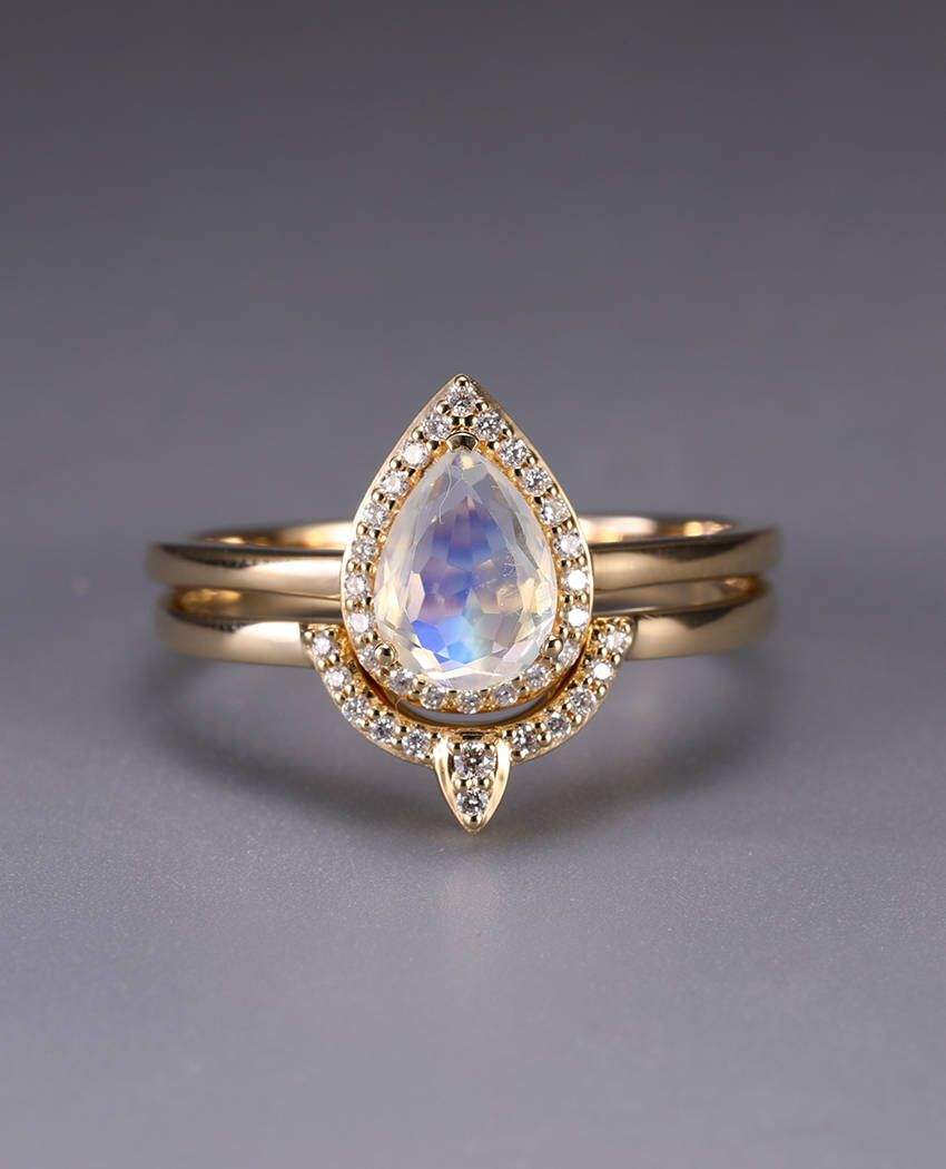 Fashion week Rings Moonstone for women pictures for lady