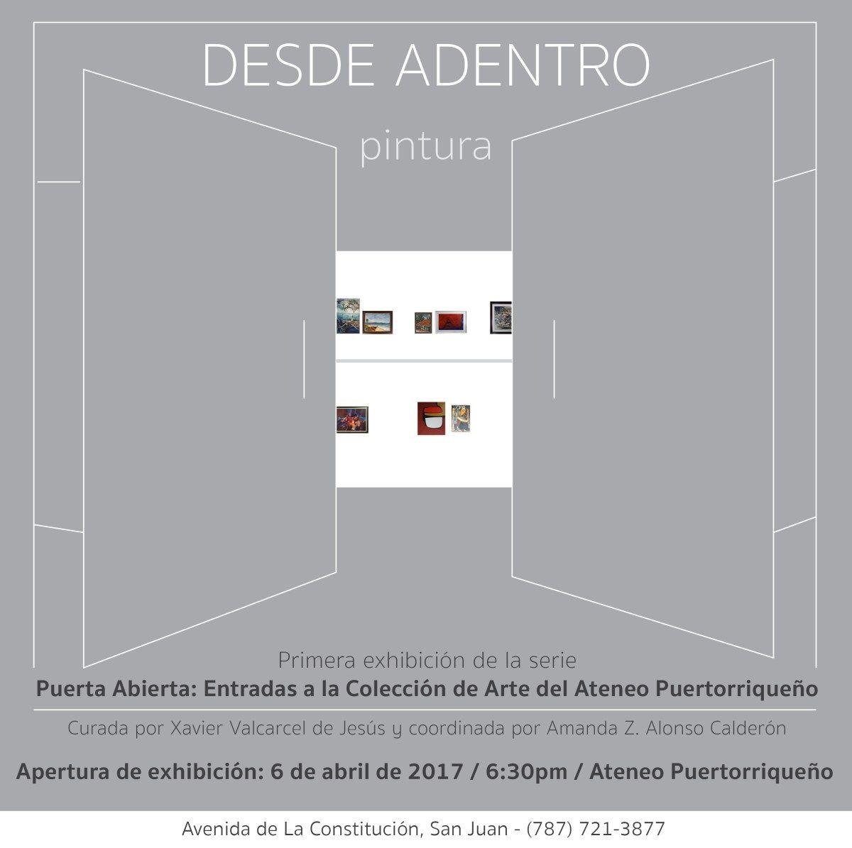 60 años del Certamen de Artes Plásticas se exhibirán en el Ateneo Puertorriqueño.