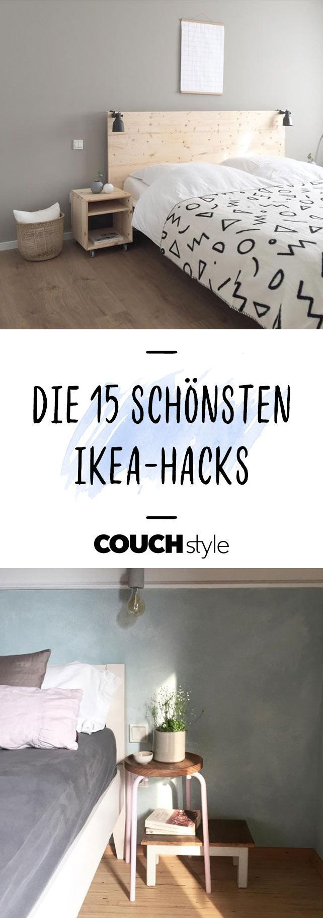 We'll show you 12 Ikea hacks that you can easily imitate at home ...