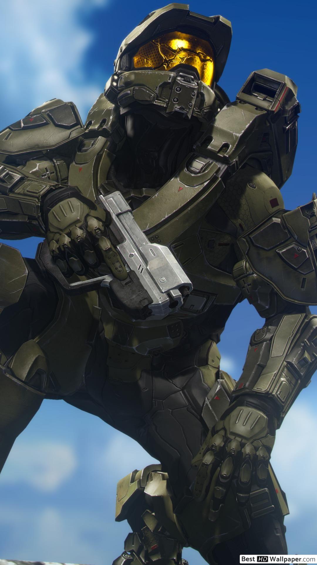 Unique Halo 4 iPhone Wallpaper