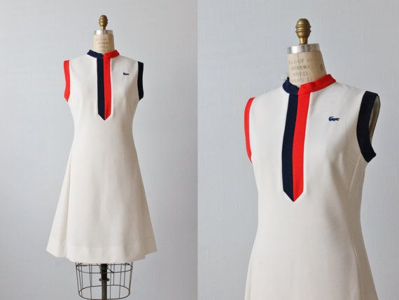 LACOSTE Vintage Sleeveless Tennis Polo