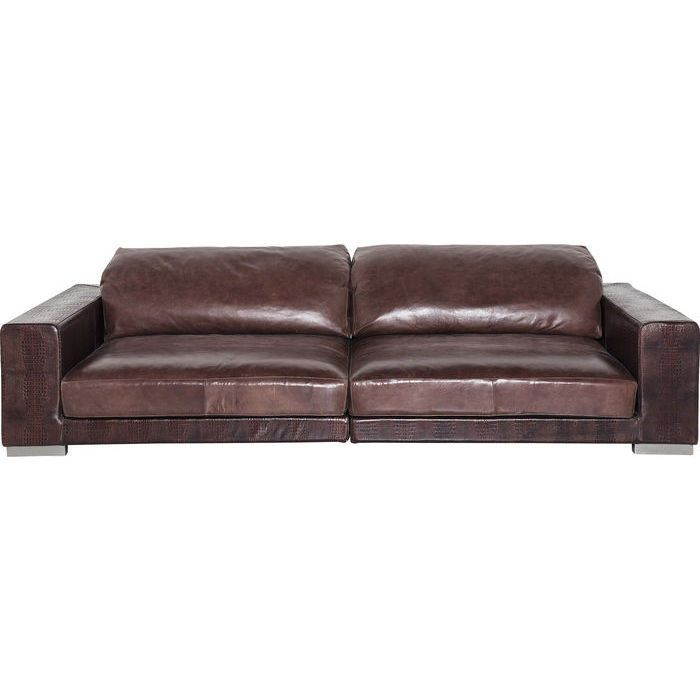 Best Quality Sofa Manufacturers: Sofa Grandezza 1 Brown KARE Studio Divani Studio Divani Is