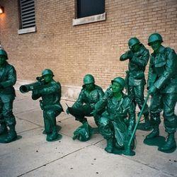 Plastic army