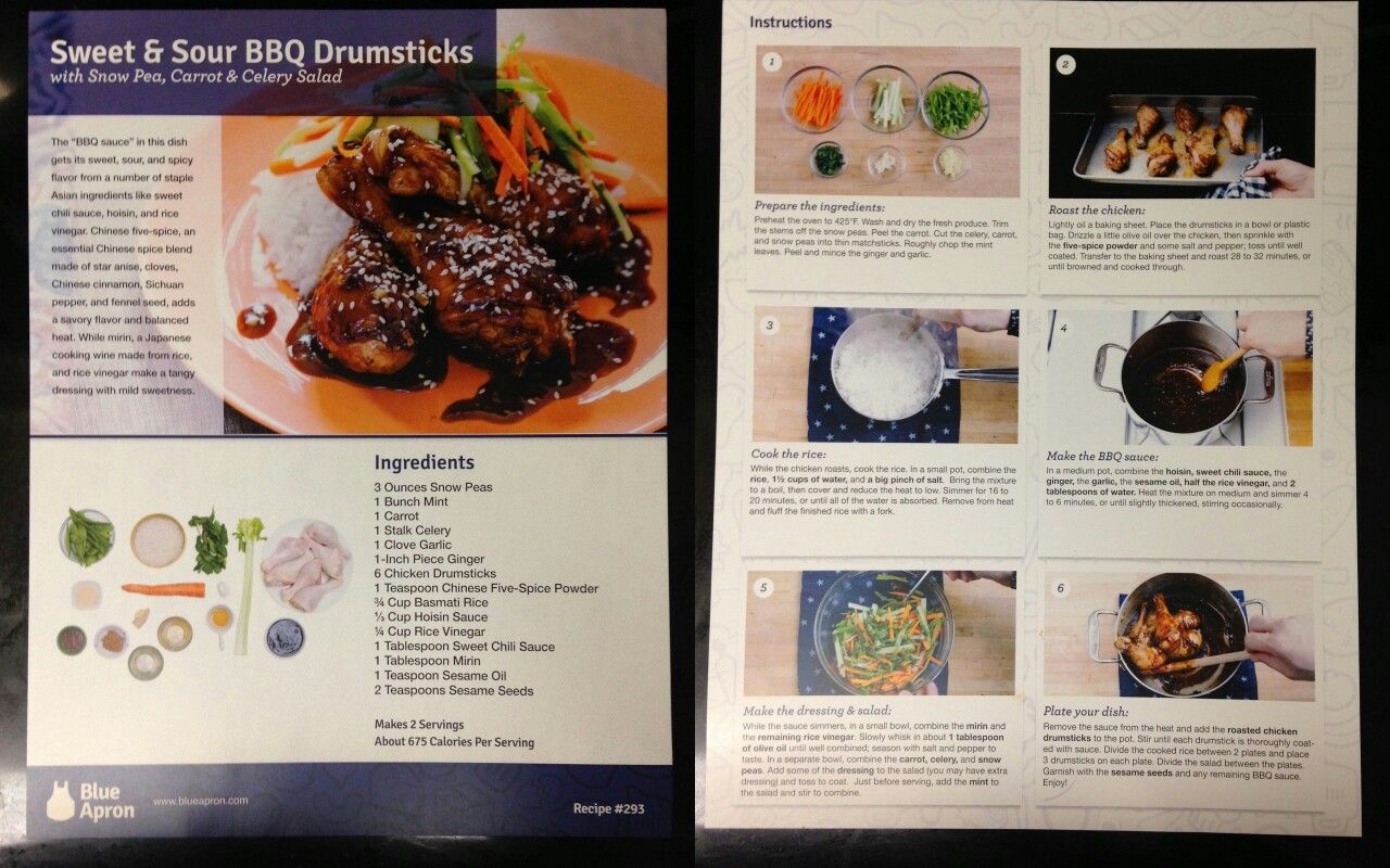 Blue apron on the menu - Explore Blue Apron Sunday Night And More