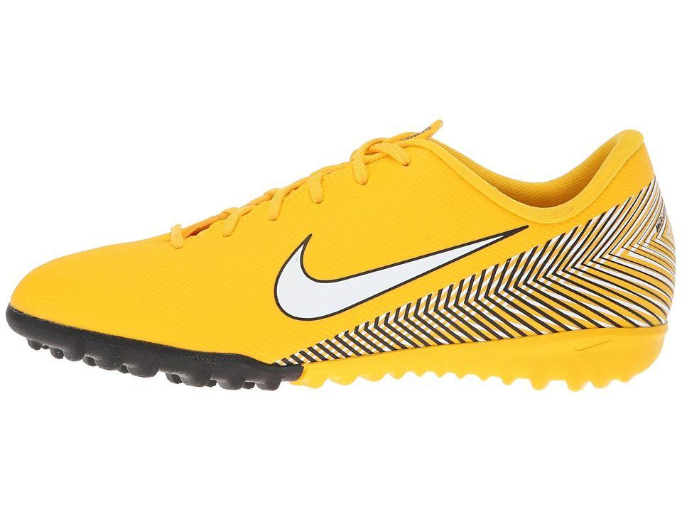 e6786d1bfb8 Nike Kids Neymar Jr. VaporX 12 Academy TF Soccer (Little Kid Big Kid) Kids  Shoes Amarillo White Black
