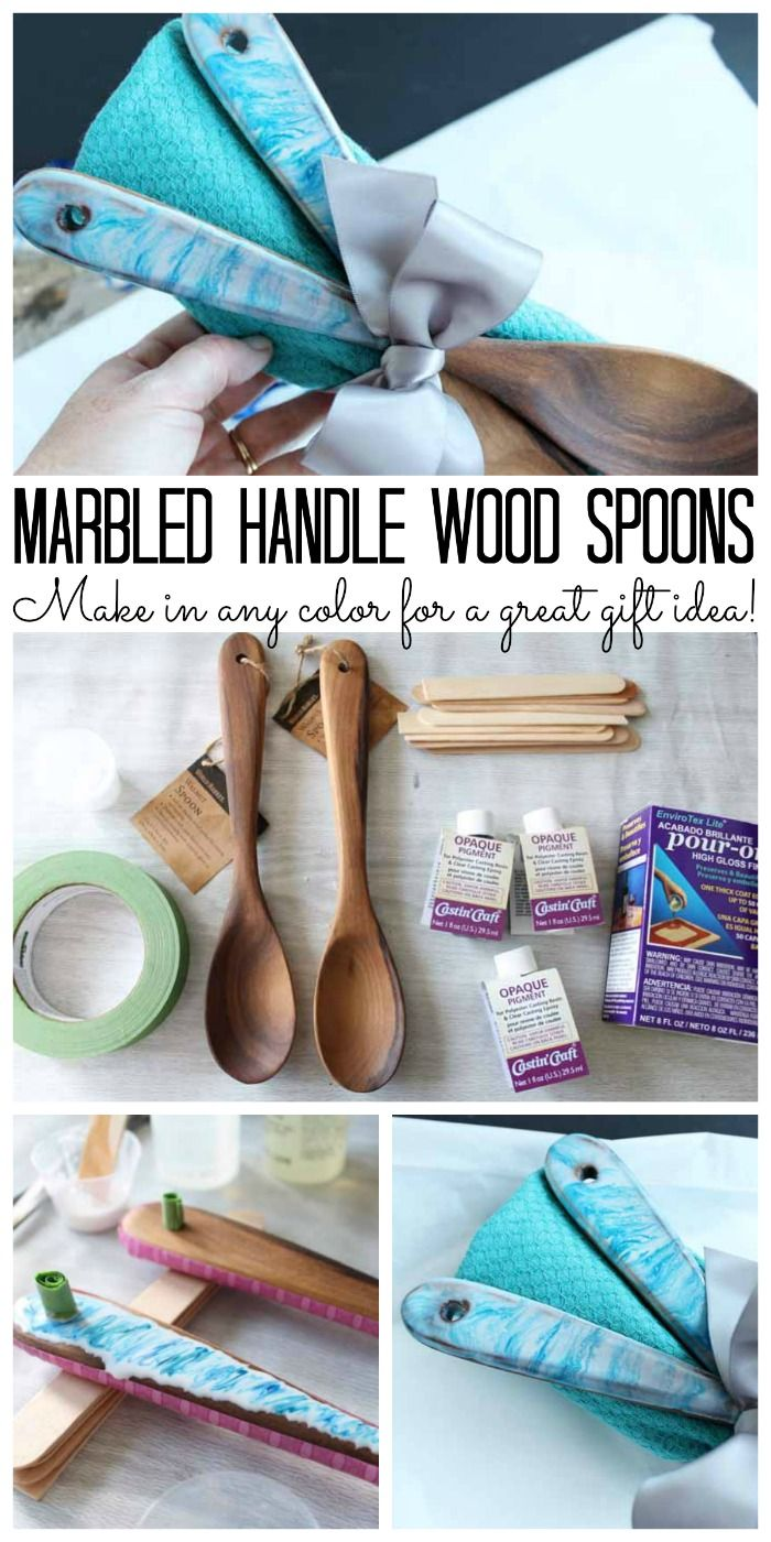 Photo of Decorated Wooden Spoons: A Great Gift Idea