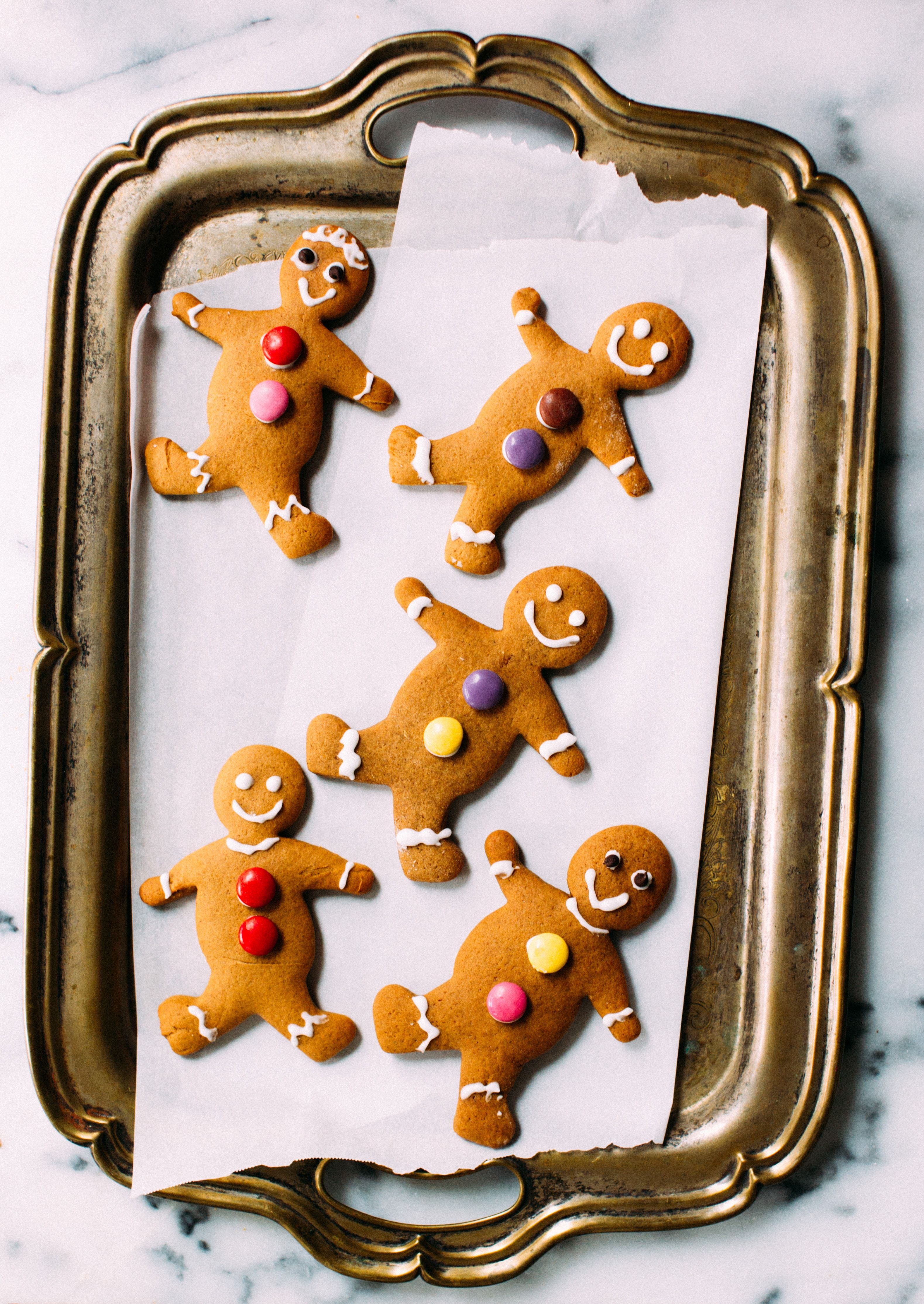 Soft, Chewy Gingerbread Men Chewy
