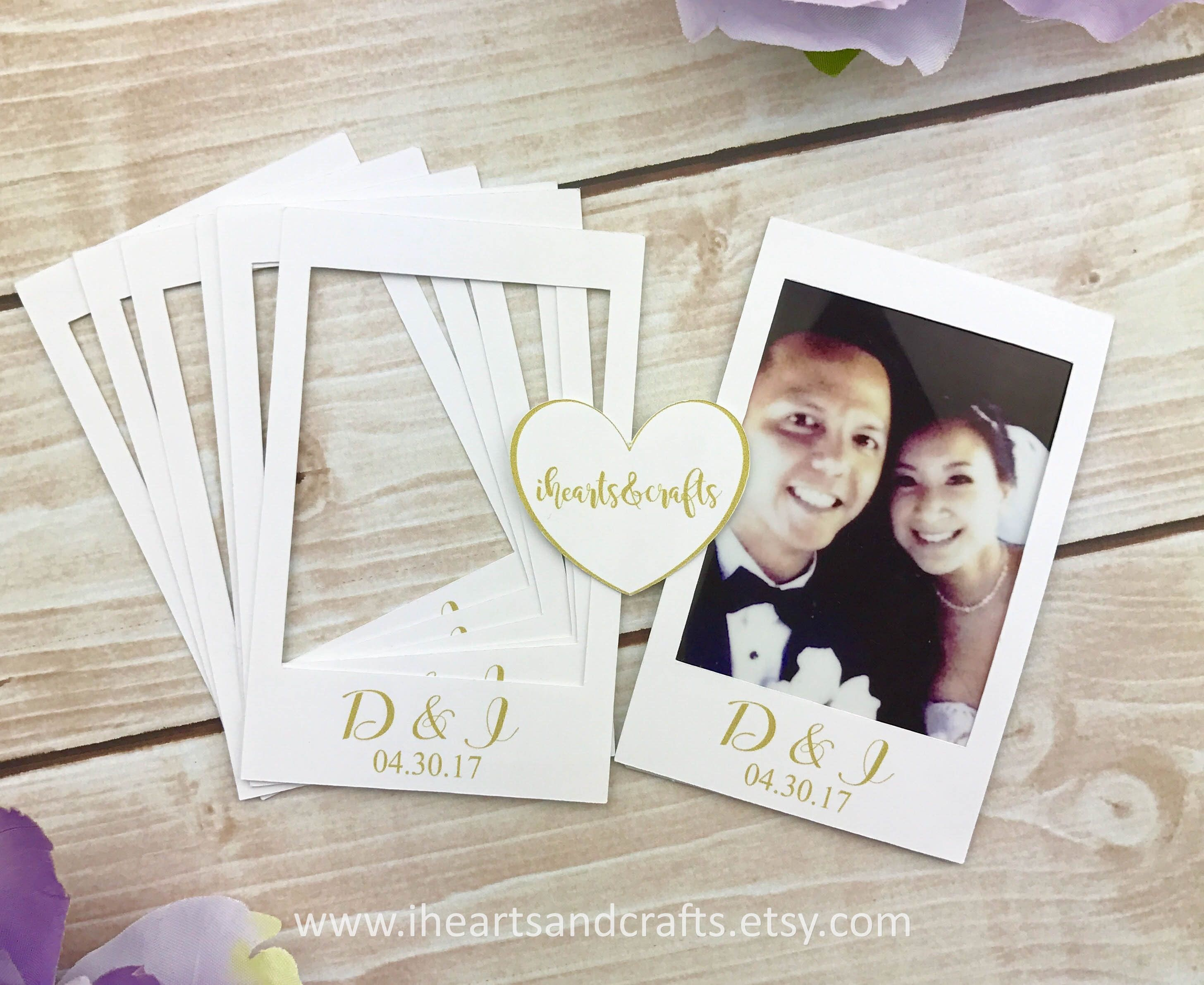 SET OF 20 Instax mini STICKERS Personalized instant photo sticker ...