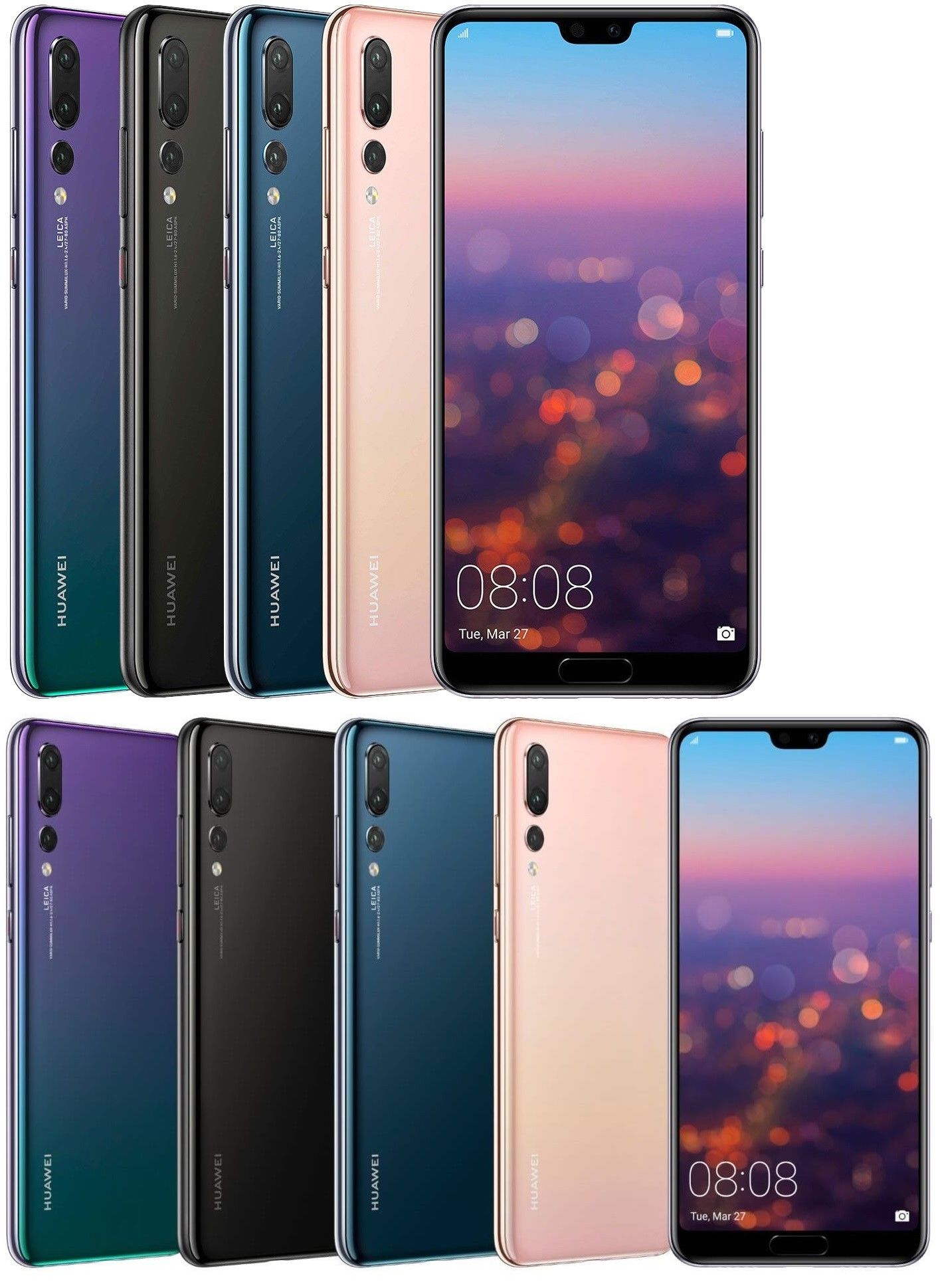 Cell Phones and Smartphones 9355: Huawei P20 Pro 128Gb Clt