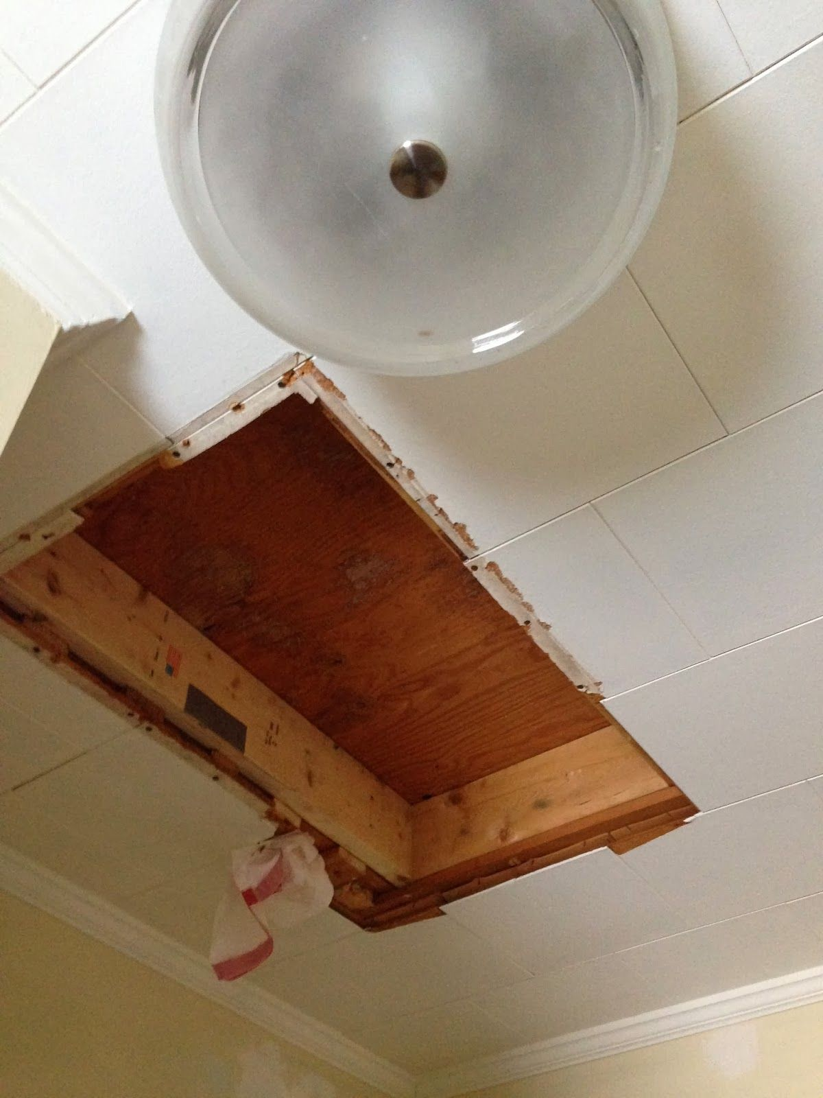 Bathroom Exhaust Fan No Attic Access