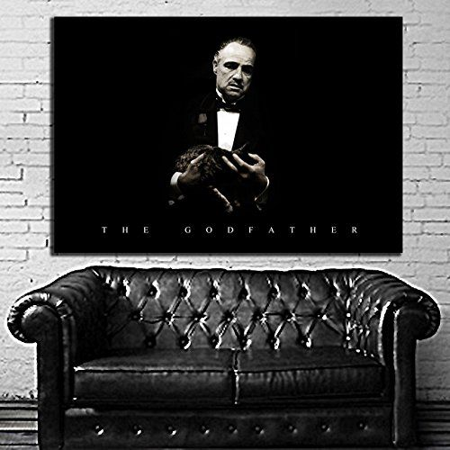 Godfather Movie Mafia Mob Poster Wall Mural on Adhesive Vinyl