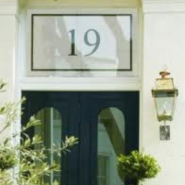 House Number And Street Above The Front Door Front Door Styles Victorian Front Doors Entry Doors With Glass
