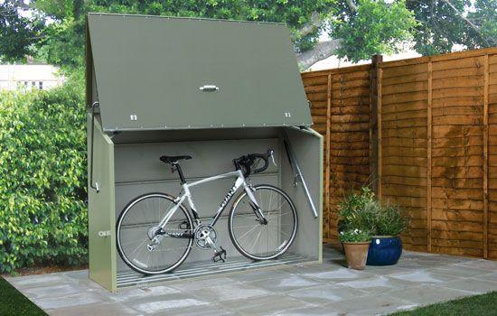 Abri à vélos métal TRIMETALS Sesame vert en 2019 | Abris et garages ...