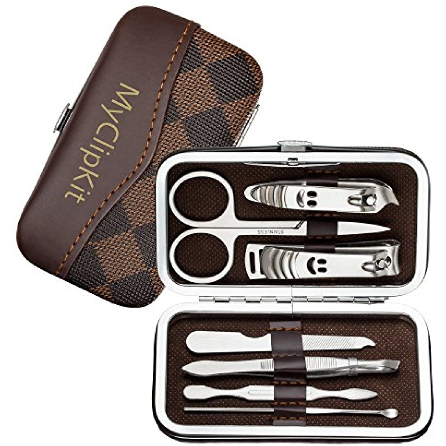 Professional Nail Clippers Kit, Stainless Steel Nails Cutter ...