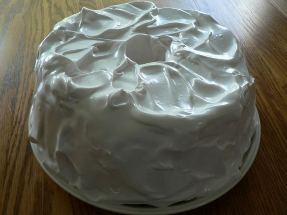 Angel Food Cake With 7 Minute Frosting Recipe From Grandma S