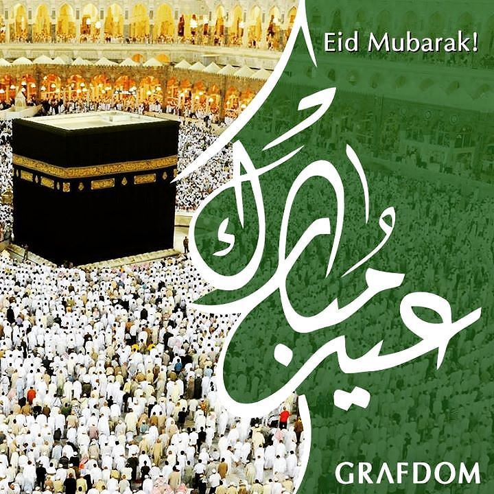 Grafdom Digital Media On Instagram Best Wishes On The Occasion Of Eid Al Adha أسمى آيات التهاني والتبريكات بمناسبة عيد الأضحى ا Eid Mubarak Eid Instagram