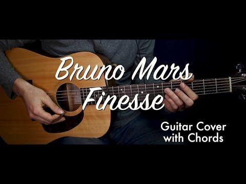 Bruno Mars - Finesse guitar cover/guitar (lesson/tutorial) w Chords ...
