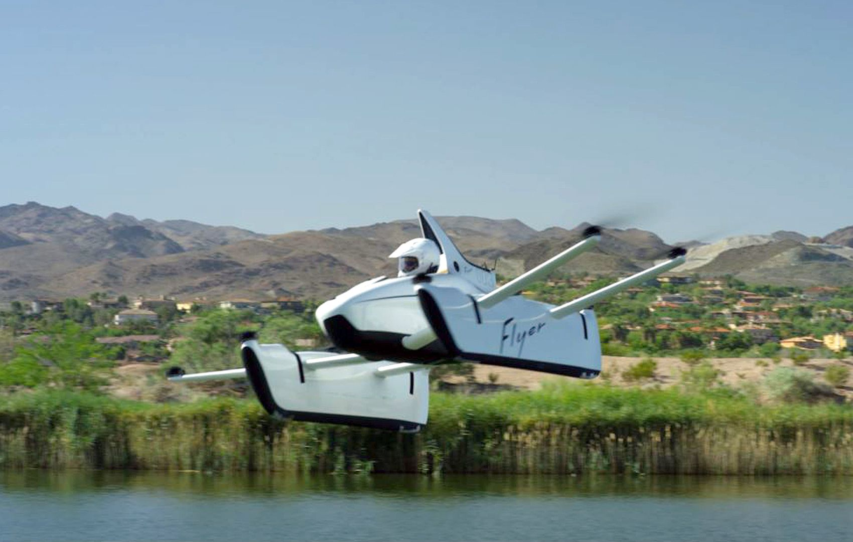 The Kitty Hawk Flyer is an allelectric aircraft. The