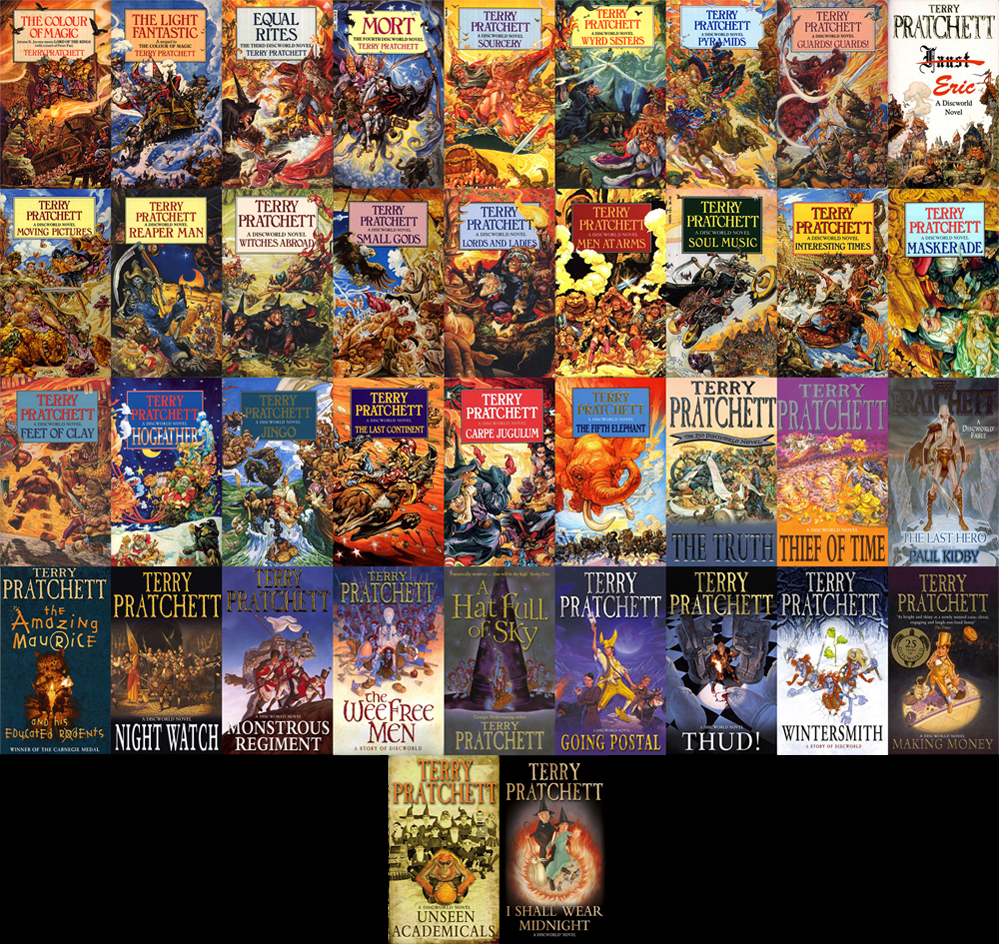 Image result for Discworld books