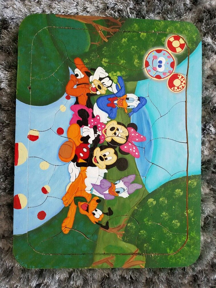 Wooden puzzle that I made several years ago for my granddaughter, Olivia.