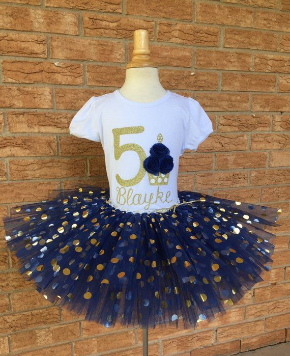Girls Fifth Birthday 5th Outfit