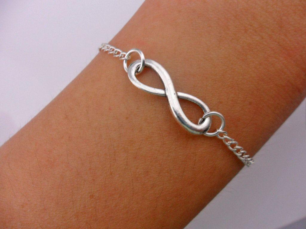 Fashion infinity bracelet chain bracelet by braceletbanglecase