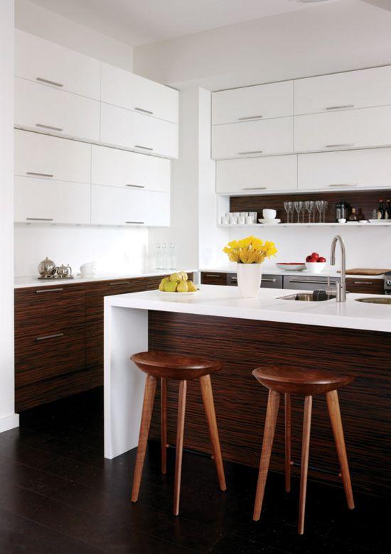 Modern beautiful kitchen
