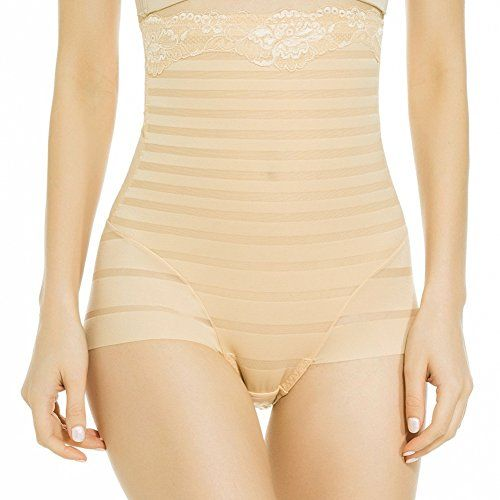 2fbb831035dd2 Daxin Women High Waist Body Shaper Brief Tummy Control Slimming Panty  Shapewear -- Click image to review more details. Note  It s an affiliate  link to ...