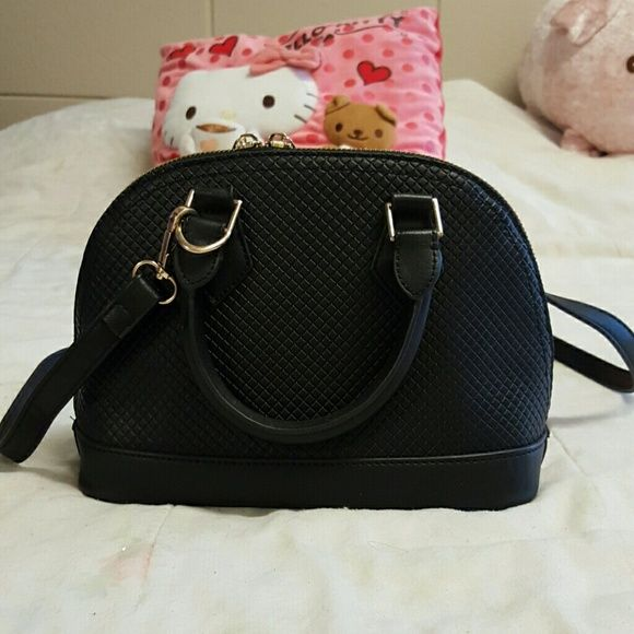 96603bbec1 NWOT Black hand bag Cute and classy black handbag. Will match anything! The  perfect size. In great condition. Brand new - never worn!