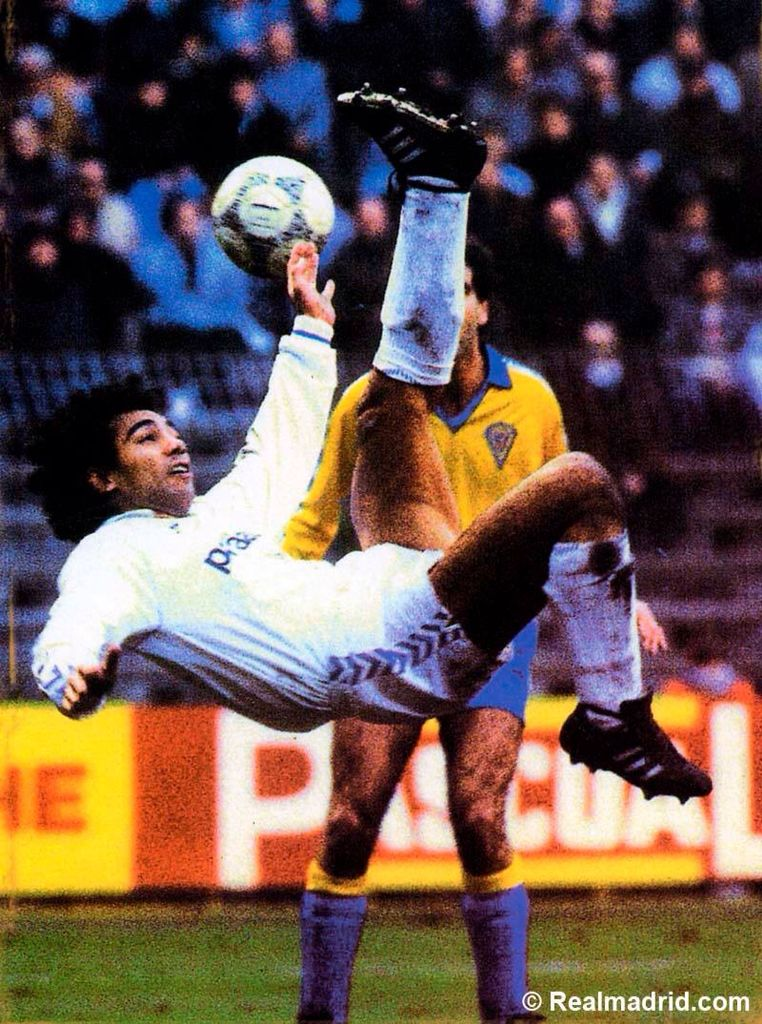 Hugo Sanchez Real Madrid Jugadores Del Real Madrid Jugador De Futbol Fondos De Pantalla Deportes