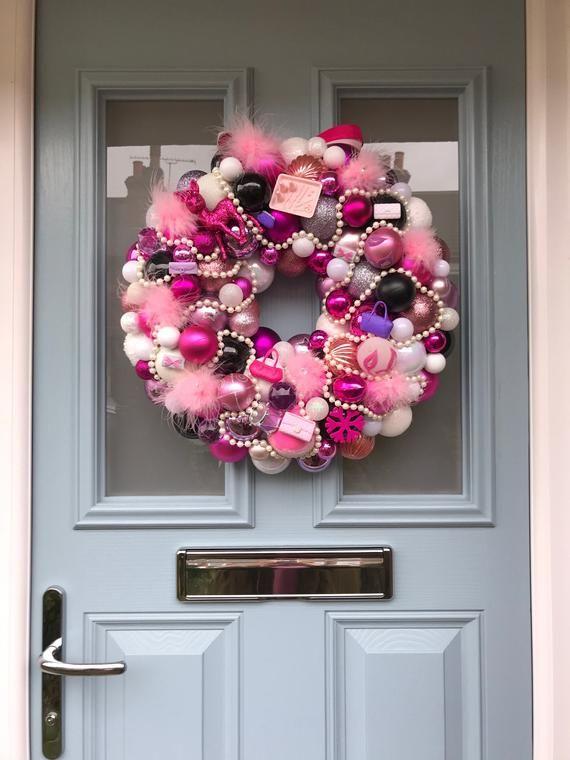 Bauble wreath - The Regina! #baublewreath
