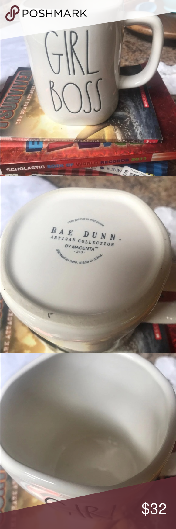 Rae Dunn Coffee ☕️ mug Girl Boss coffee mug by Rae Dunn  Like new. Rae Dunn Kitchen Coffee & Tea Accessories #bosscoffee Rae Dunn Coffee ☕️ mug Girl Boss coffee mug by Rae Dunn  Like new. Rae Dunn Kitchen Coffee & Tea Accessories #bosscoffee