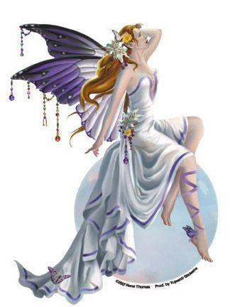 Rainbow bubble fairy sticker nenethomas fantasyart