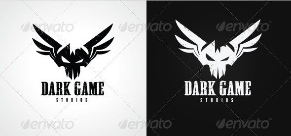 dark-game-logo.jpg (590×277) | BitCake Studio Logo | Pinterest ...