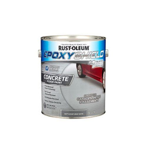 Concrete Floor Paint Rust