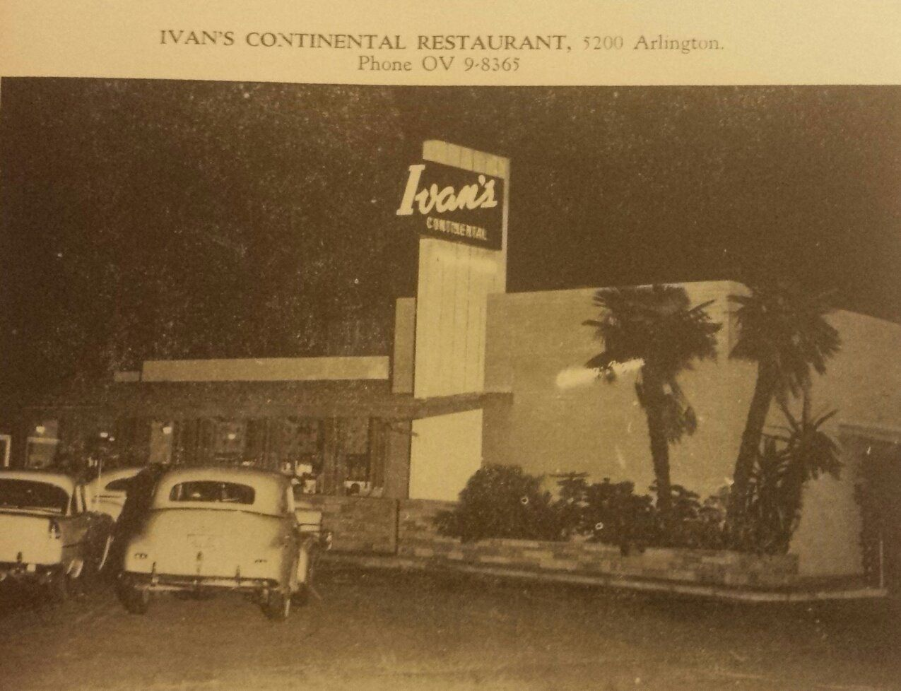 Across the street from Sears on Arlington. Where Denny's was eventually.