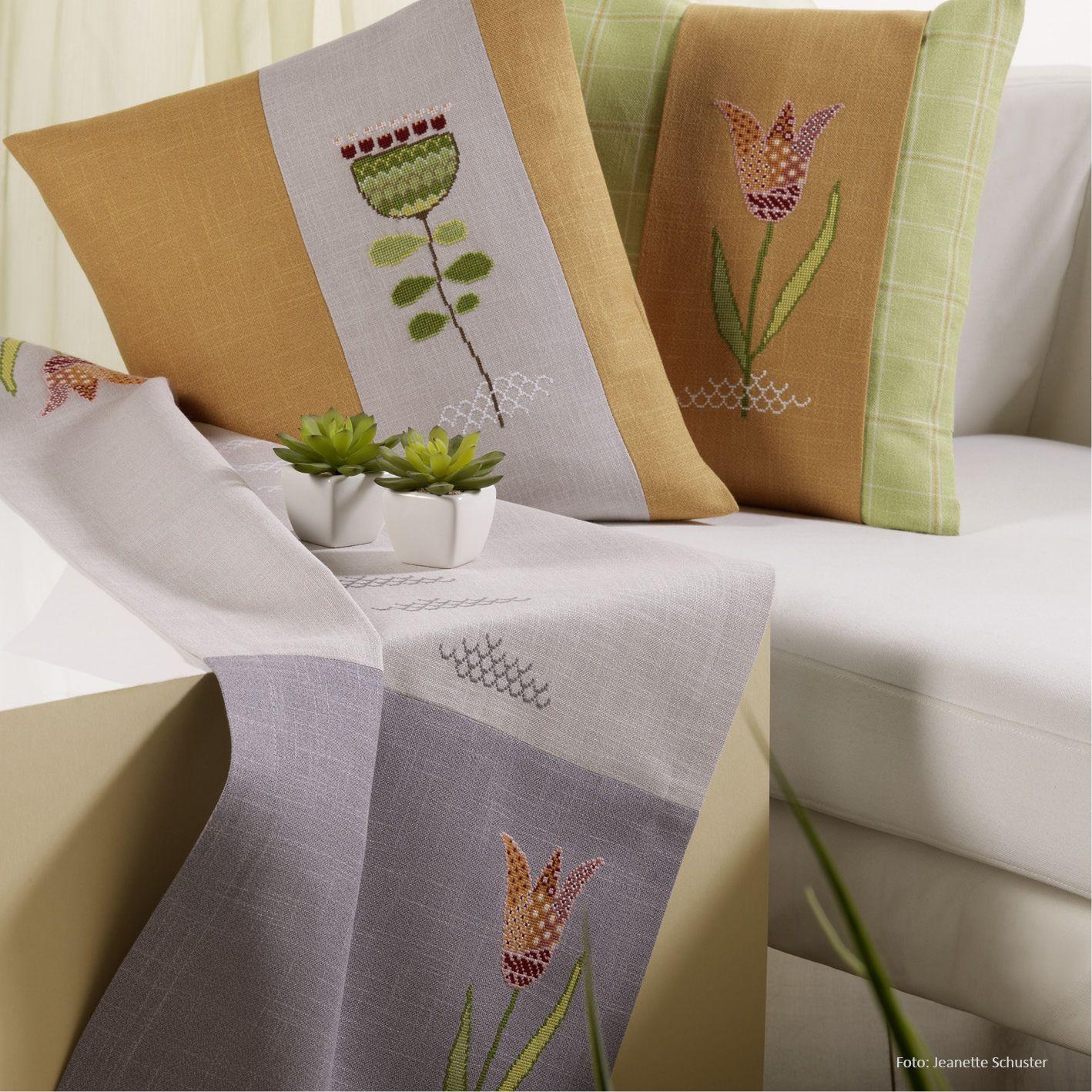Distel und Tulpe sticken - Entdecke zahlreiche kostenlose Charts zum ...