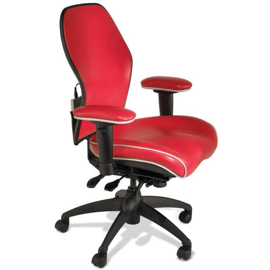 Awesome Cool Computer Chair Design With Red Glossy Color