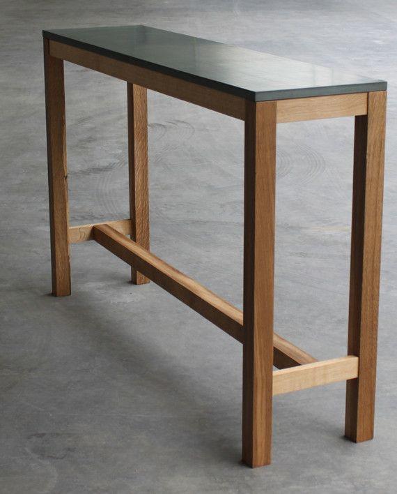 Beton Moebel Stehtisch Klassisch 160x40 Dg_01