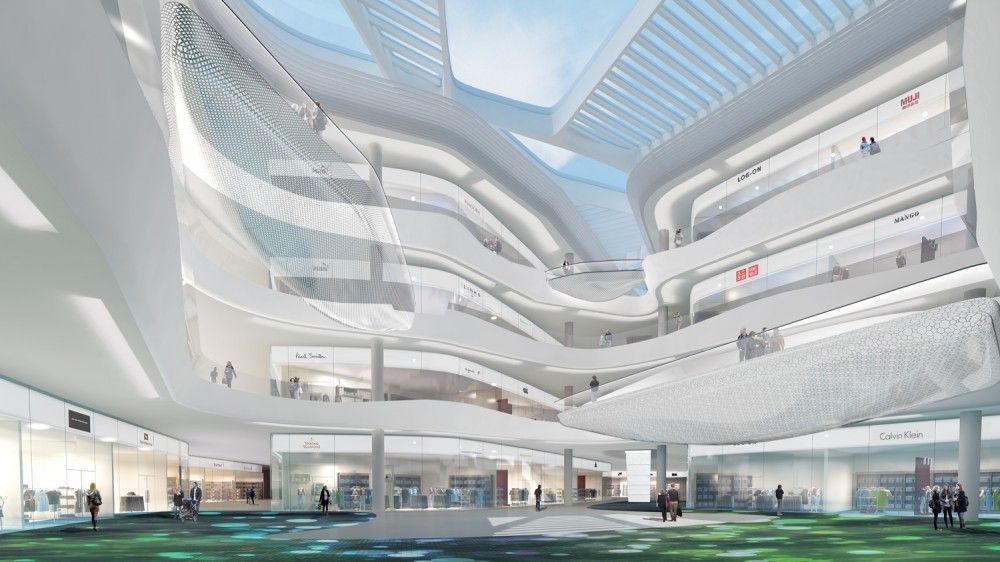 Gallery Of Summer International Shopping Mall / 10 Design   11