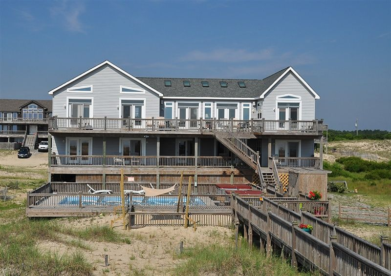 Twiddy outer banks vacation home dune maker 4x4 oceanfront 9 bedrooms