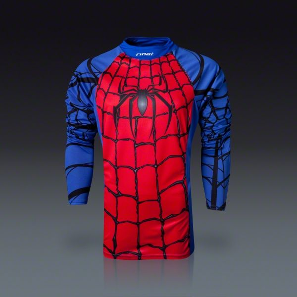 96ab5cece long sleeve spider man Goalkeeper Jersey