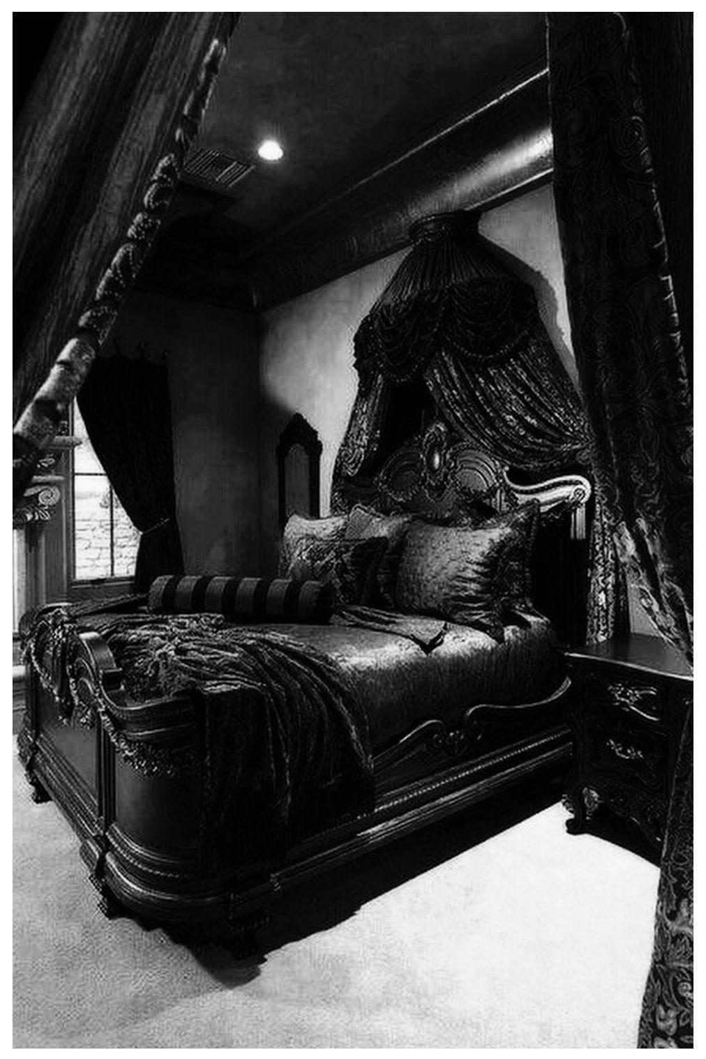 Gothic Bedroom Ideas 40 Stylish Design How To Decorate Black Bedroom Furniture Black Bedroom Furniture Set Gothic Bedroom