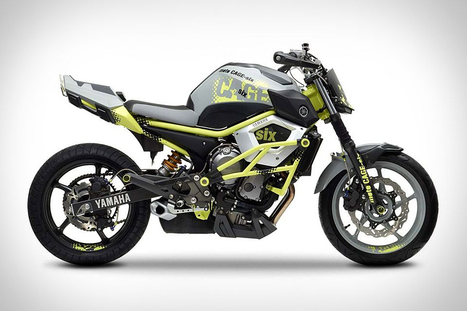 Yamaha Moto Cage Six Concept Motorcycle Concept Motorcycles