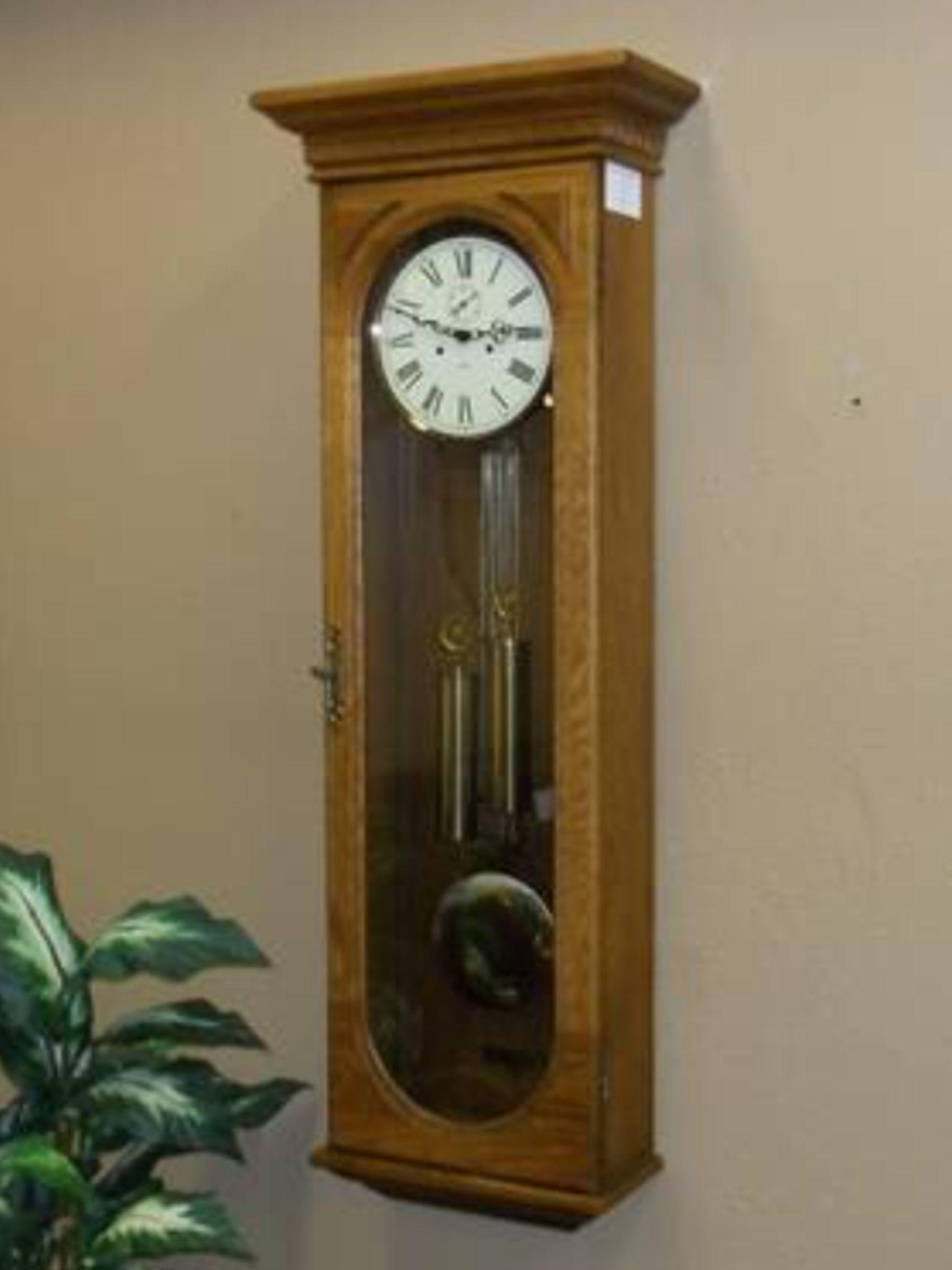 Howard Miller 612 485 Oak Wall Clock Vienna Regulators Pinterest